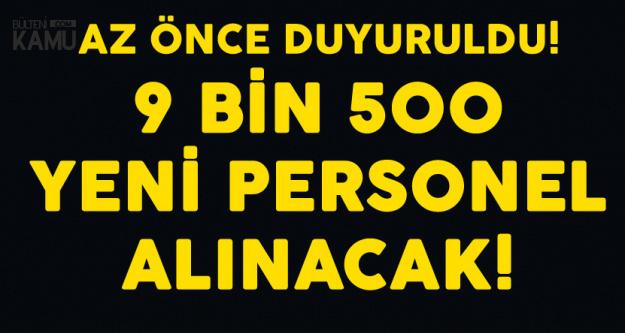 Son Dakika! DİB'e 9 Bin 500 Personel Alınacak