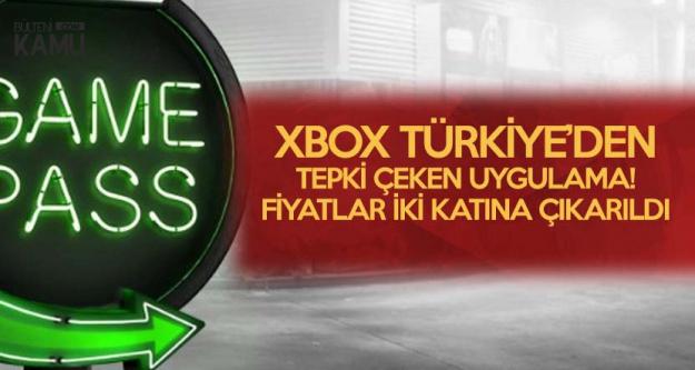XBOX Türkiye'den Tepki Çeken Hareket ! Yüzde Yüz Zam!
