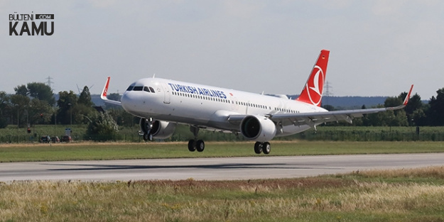 Yeni Havalimanına İlk THY Uçağı İndi
