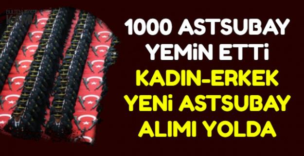 1000 Astsubay Mezun Oldu-Kadın-Erkek Yeni Jandarma Astsubay Alımı Yolda