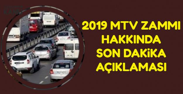 2019 MTV (Motorlu Taşıtlar Vergisi) Zammı Belli Oldu