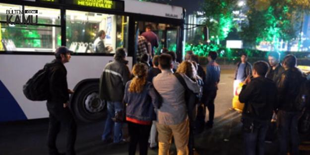 Ankara'da Kadın ve Çocuklar için Otobüs Düzenlemesi