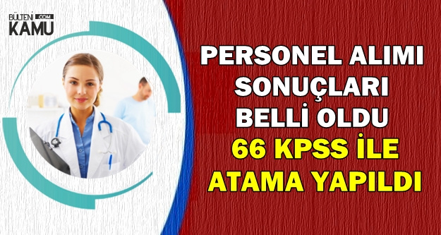 Bozok Üniversitesi Personel Alımı Sonuçları Açıklandı-66 KPSS ile Atama Yapıldı
