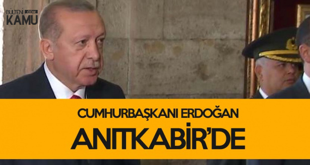 Cumhurbaşkanı Erdoğan Anıtkabir Özel Defterine Yazdı: Aziz Atatürk, Büyük Gurur ve Heyecanla Manevi Huzurundayız