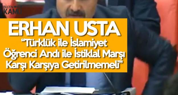 Erhan Usta: Türklük Üst Bir Kimliktir, Etnik Unsur Değildir
