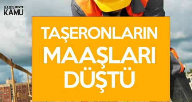 Halit Önük : Yüzbinlerce Taşeron İşçinin Maaşı Düştü