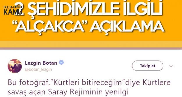 HDP'li Botan'dan Donarak Şehit Olan Askerlerimizle İlgili 'Alçak' Sözler