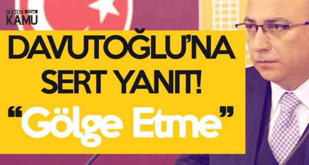 İzzet Ulvi Yönter'den Ahmet Davutoğlu'na Sert Yanıt