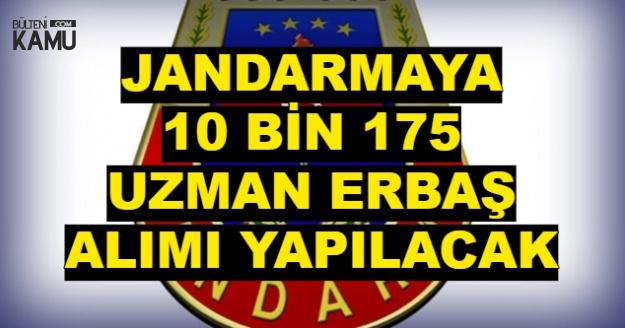 Jandarma'ya 2018'de 10 Bin 175 Asayiş Uzman Erbaş Alımı Yapılacak