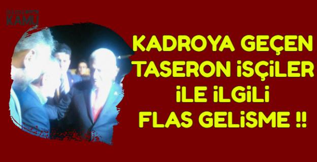 Kadroya Geçen Taşeronların Maaş-Mali Haklar ve Toplu İş Sözleşmesi İçin Flaş Gelişme !