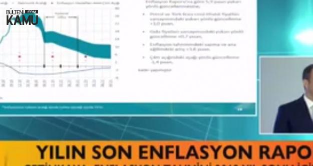 Merkez Bankası Yıl Sonu Enflasyon Tahminlerini Açıkladı! Enflasyon Tahmini Yüzde 23,5 Yükseldi