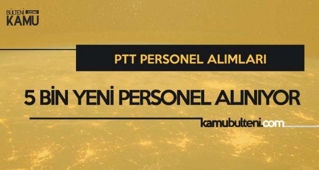 PTT 5 Bin Yeni Personel Alımı için Heyecan Dorukta! Duyuru 19 Ekim'de Gelecek