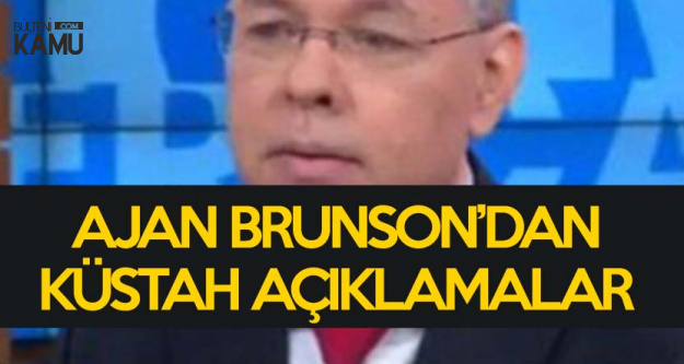 Rahip Brunson'dan ABD Basınına Küstah Açıklamalar