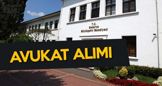 Sakarya Karasu Belediyesi Memur Alımı Yapacak (Avukat)