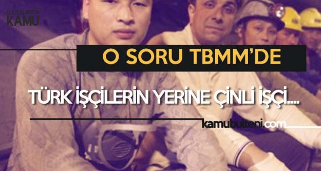 Tamer Akkal : Türk İşçilerin Yerine Çin'den İşçi Getirildi