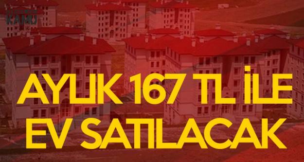 TOKİ Aylık 167 TL Taksitle Ev Satacak! İşte Başvuru Şartları