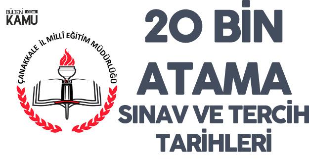 20 Bin Sözleşmeli Öğretmen Ataması Kontenjan Dağılımı Açıklandı - Tercih ve Sınav Tarihleri