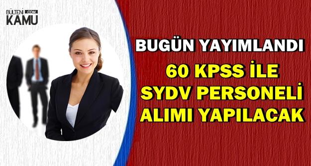 60 KPSS ile Sosyal Yardım Personeli Alımı Yapılacak