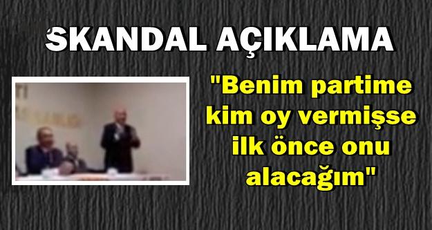 "AK Partili Aday Adayı: ""Partime Kim Oy Vermişse İlk Onu Alacağım"""