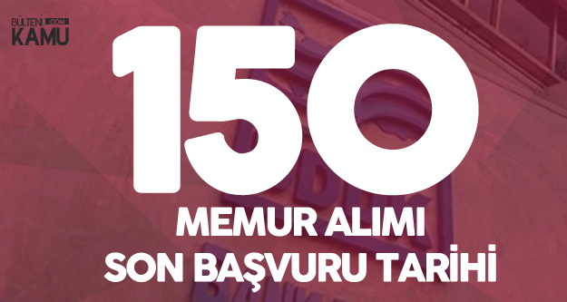 BDDK 150 Memur Alımı Başvuruları 26 Kasım'da Sona Erecek
