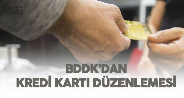 BDDK'den Yeni Kredi Kartı Düzenlemesi