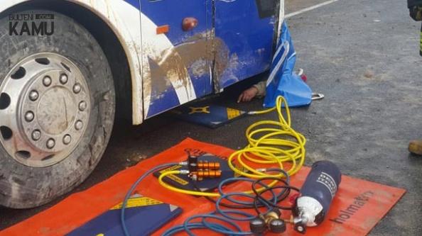 Denizli'de Korkunç Olay! Otobüs Altında Kalarak Can Verdi