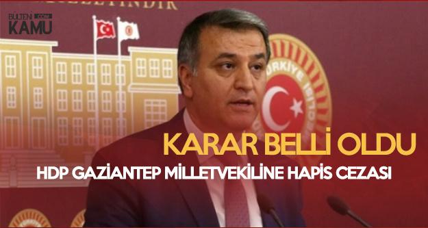 HDP'li Milletvekiline Hapis Şoku! Karar Açıklandı
