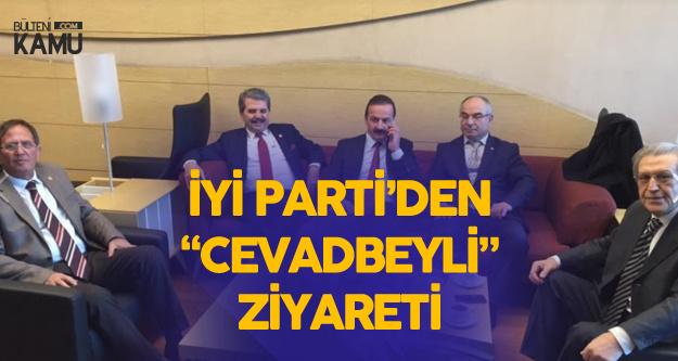 İYİ Parti 'den Tebriz Türk'ü Cevadbeyli'ye Ziyaret