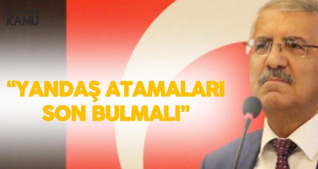 İYİ Parti Konya Milletvekili Fahrettin Yokuş: Yandaş Anlayışıyla Yapılan Atamalar Son Bulmalı