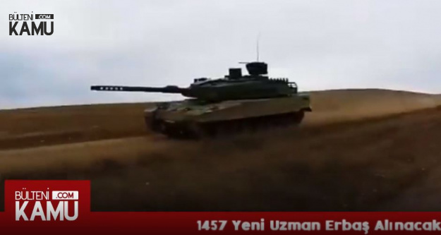 Kahraman Ordumuza 250 Yeni Altay Tankı