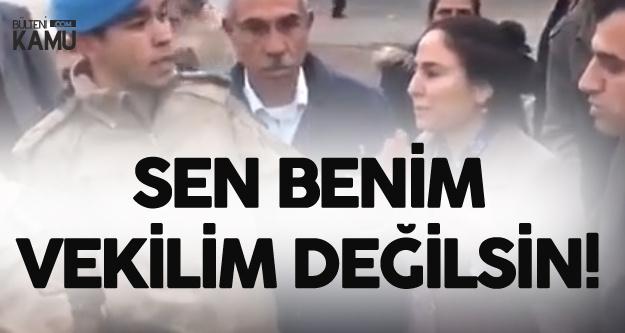 Komutandan HDP'li Vekile : Sen Benim Vekilim Değilsin