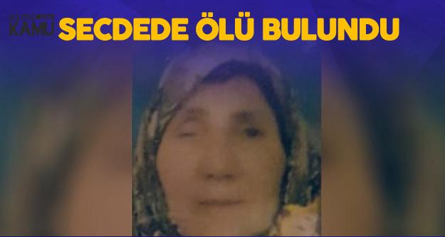 Konya'da Kahreden Ölüm, 2 Gündür Haber Alınamıyordu, Secdede Bulundu