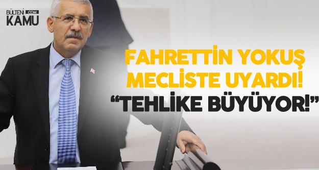 Konya Milletvekili Fahrettin Yokuş Tehlikeye Dikkat Çekti : Yakında Kurutulmadık Göl Kalmayacak