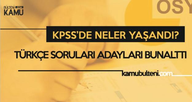 KPSS'deki Türkçe Soruları Adaylara Ecel Terleri Döktürdü