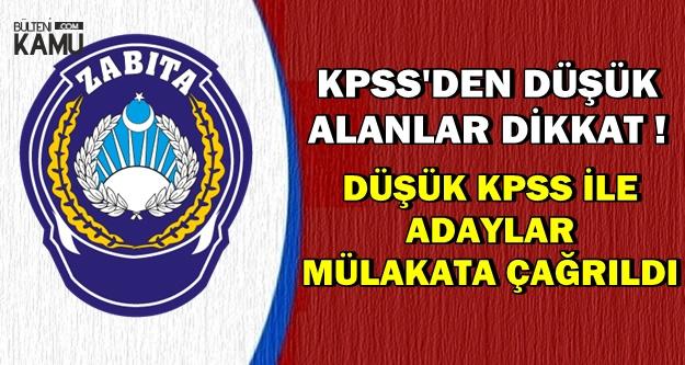 KPSS'den Düşük Alan Adaylar Dikkat: Bu Memur Alımları ile Atanabilirsiniz