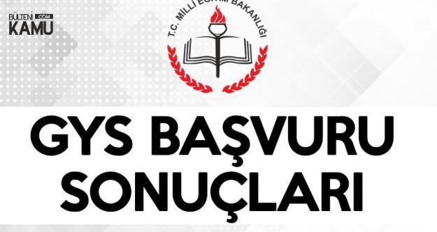 Milli Eğitim Bakanlığı , Görevde Yükselme Sınav Başvuru Sonuçları Açıklandı (MEB GYS Sınav Tarihi)