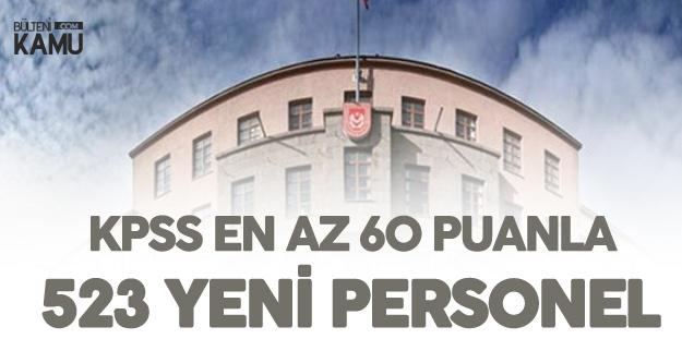 Milli Savunma Bakanlığı 523 Sözleşmeli Personel Alımı - Başvuru Genel ve Özel Şartları