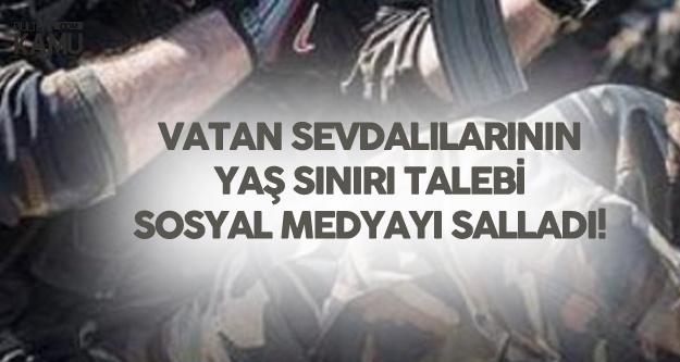 Polis Alımları (POMEM - PÖH) için 32 Yaş Talebi Sosyal Medyayı Salladı