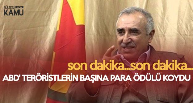 Son Dakika... ABD'den Flaş PKK Kararı, 12 Milyon Dolar Ödül