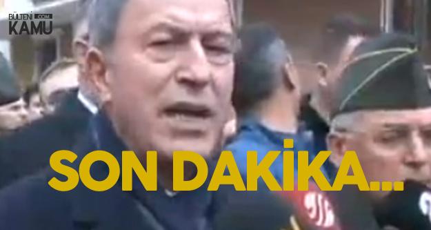 Son Dakika: Kahreden Detay ! Hulusi Akar Sancaktepe'deki Kazayla İlgili Açıklama yaptı