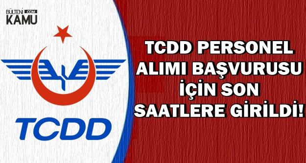 TCDD Kadrolu Personel Alımı Başvuru Son Günü: 25 Kasım 2018