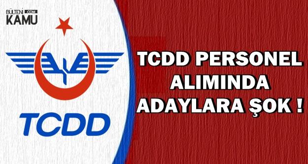 TCDD Personel Alımında Adaylara Başvuru Süresi Şoku