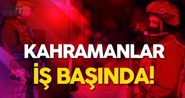 Adana'da PÖH ve TEM'den Harika Operasyon! Tek Tek Yakaladılar