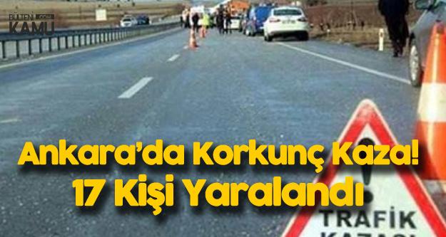 Ankara'da Cenaze Dönüşü Can Pazarı: 17 Kişi Yaralandı