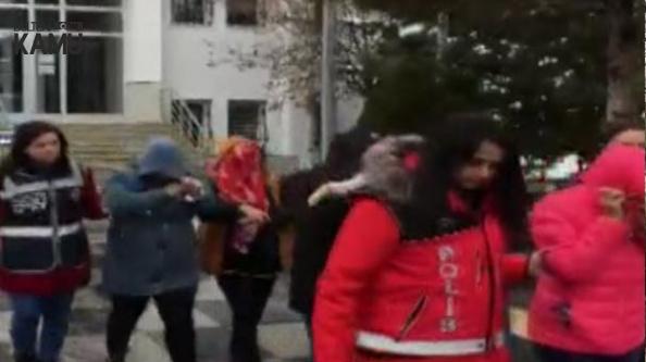 Ankara'da Fuhuş Operasyonu! Yurt Dışından Getirdikleri Kadınları Esir Almışlar