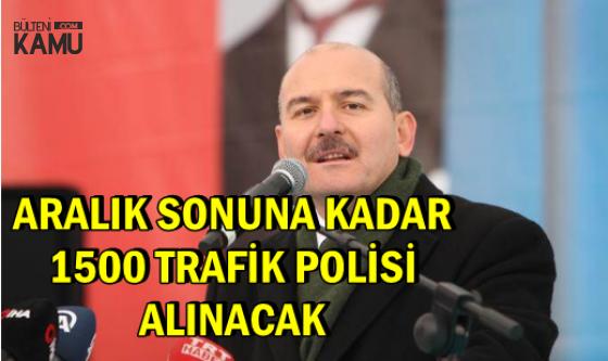 Bakan Soylu: Aralık Sonuna Kadar 1500 Trafik Polisi Alımı Yapılacak