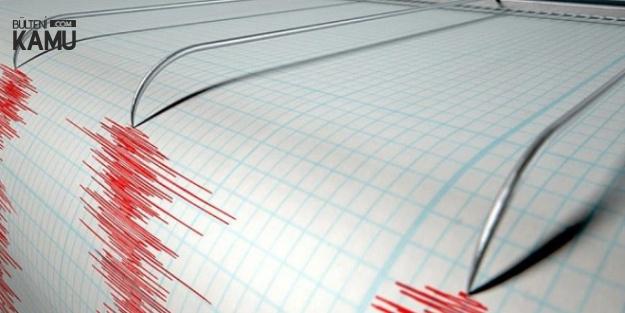 Çanakkale'de 4 Büyüklüğünde Deprem Meydana Geldi