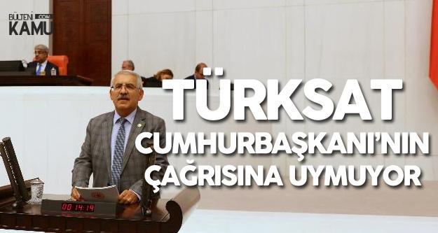 Fahrettin Yokuş: TÜRKSAT Cumhurbaşkanını Neden Dinlemiyor?