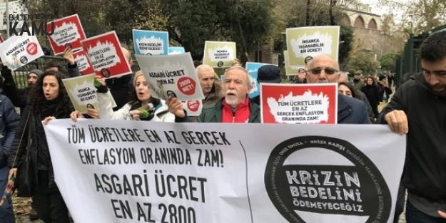 İşçiler Eylem Yaptı! İşte 2019 Asgari Ücret Teklifi