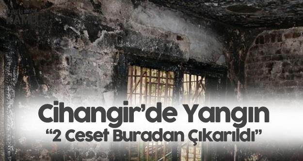 İstanbul Cihangir'de Yanan Binadan 2 Ceset Çıkarıldı